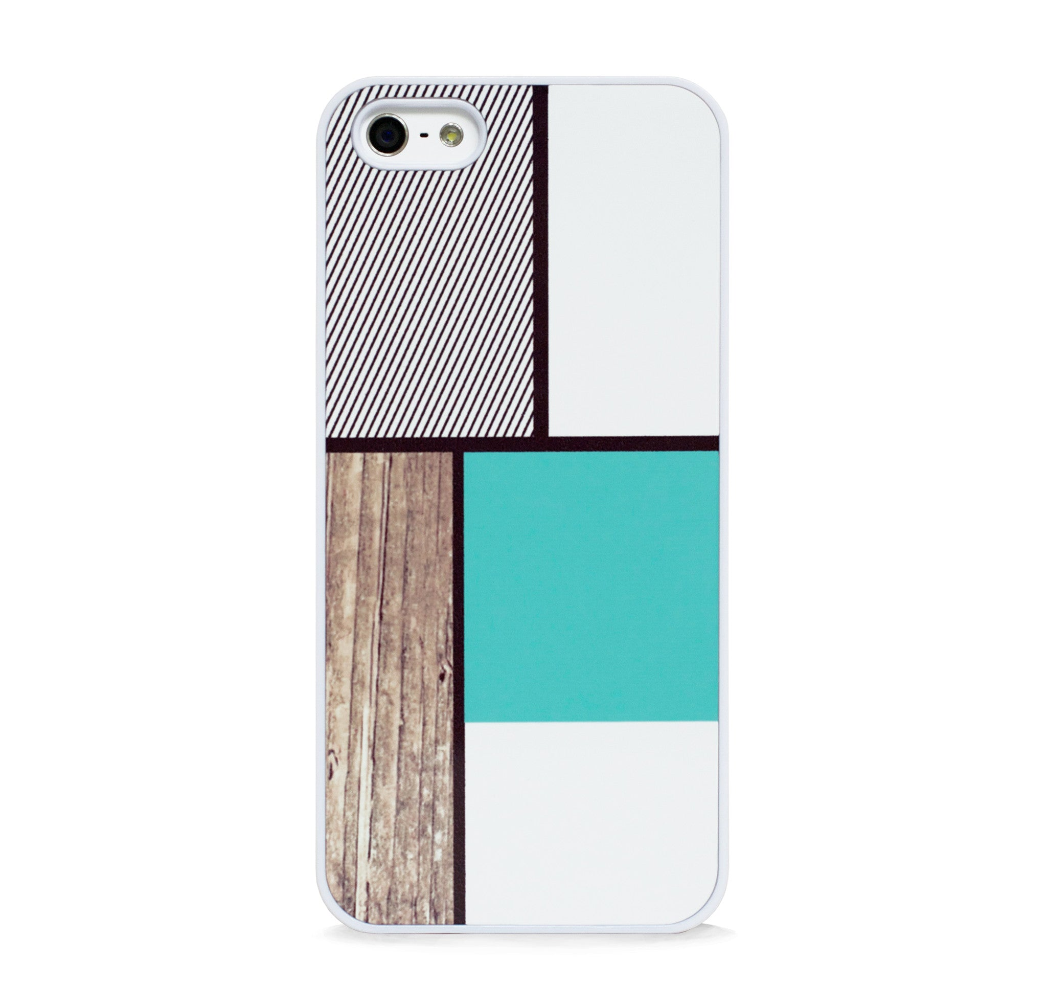 COLOR BLOCK SQ MINT FOR IPHONE 5/5S