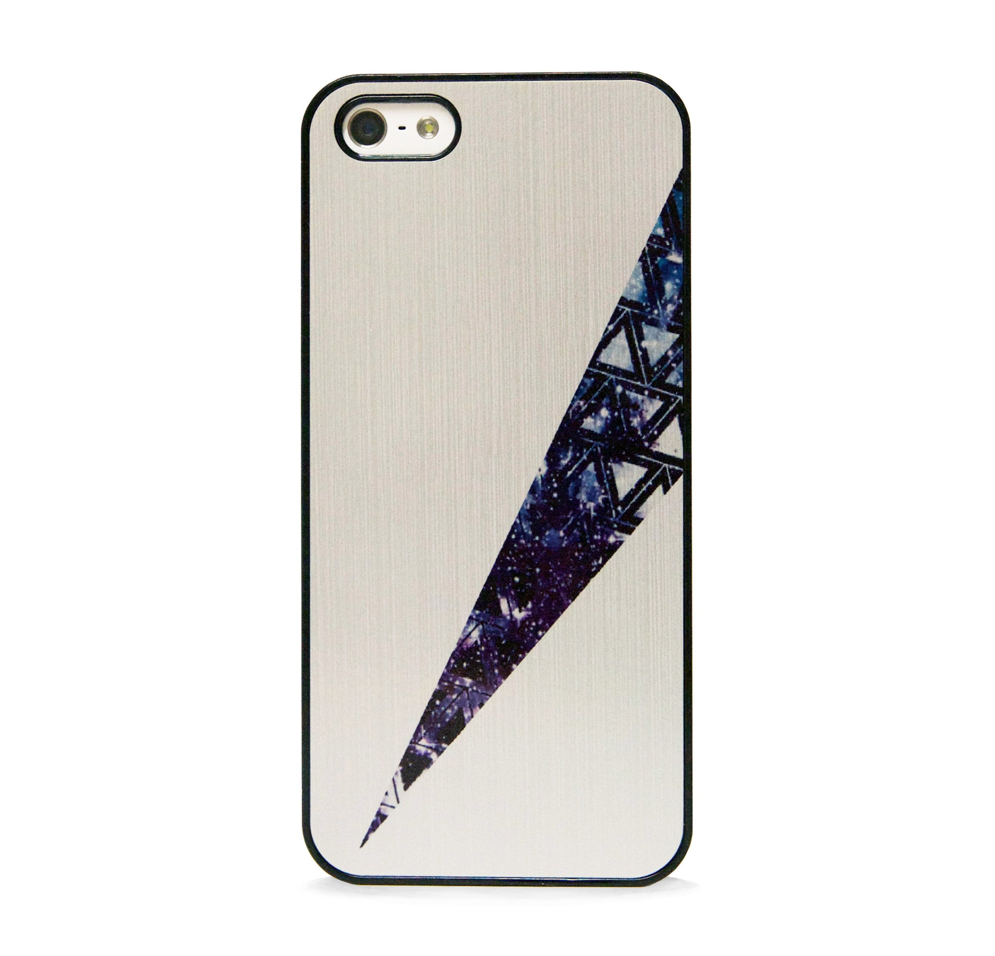BRUSHED METAL NAVY IPHONE 5/5S CASE