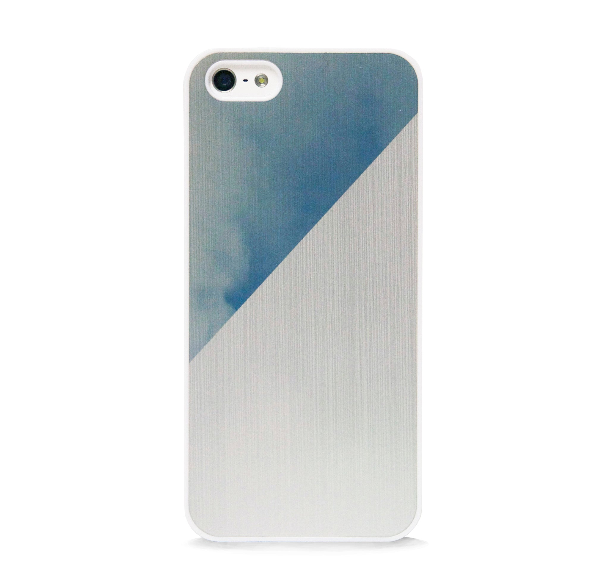 BRUSHED METAL SKY IPHONE 5/5S CASE