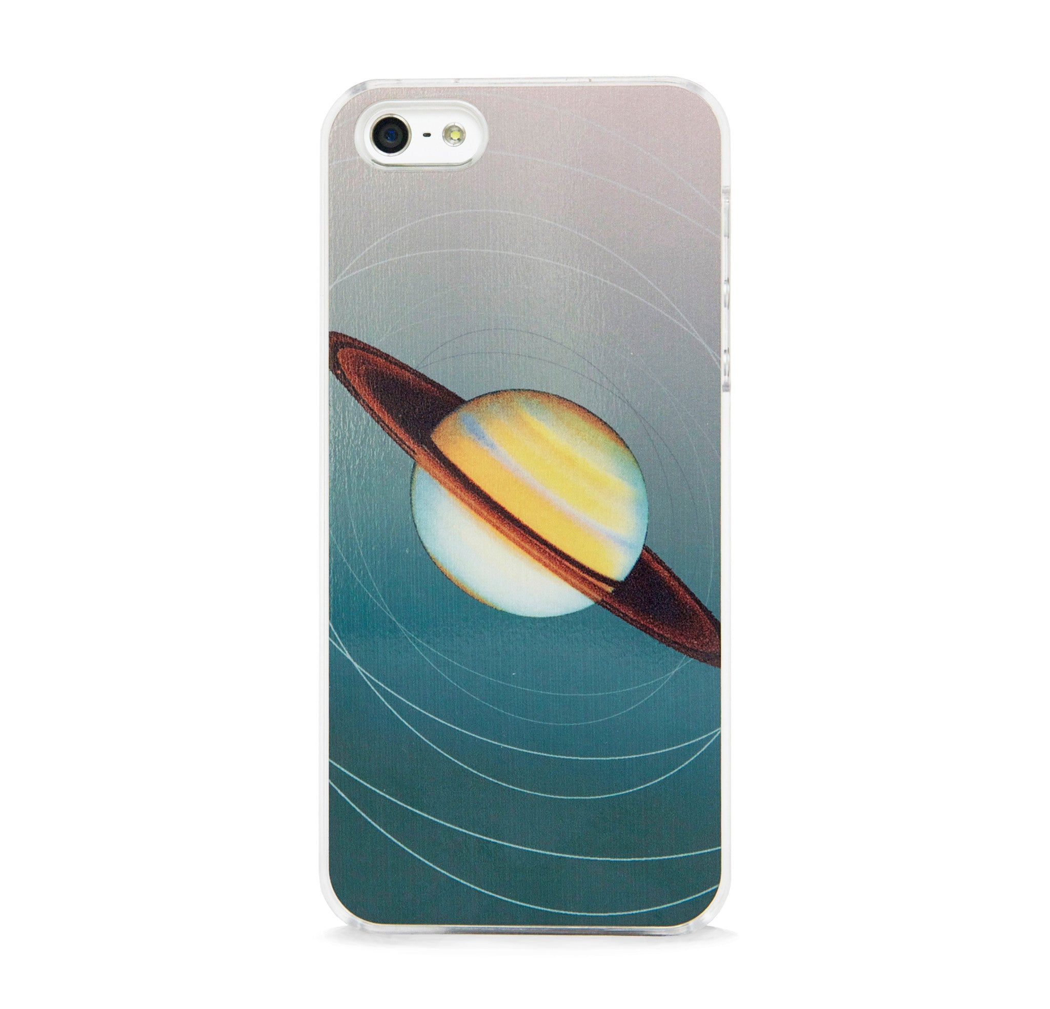 SPACE SATURN DK GREEN FOR IPHONE 5/5S