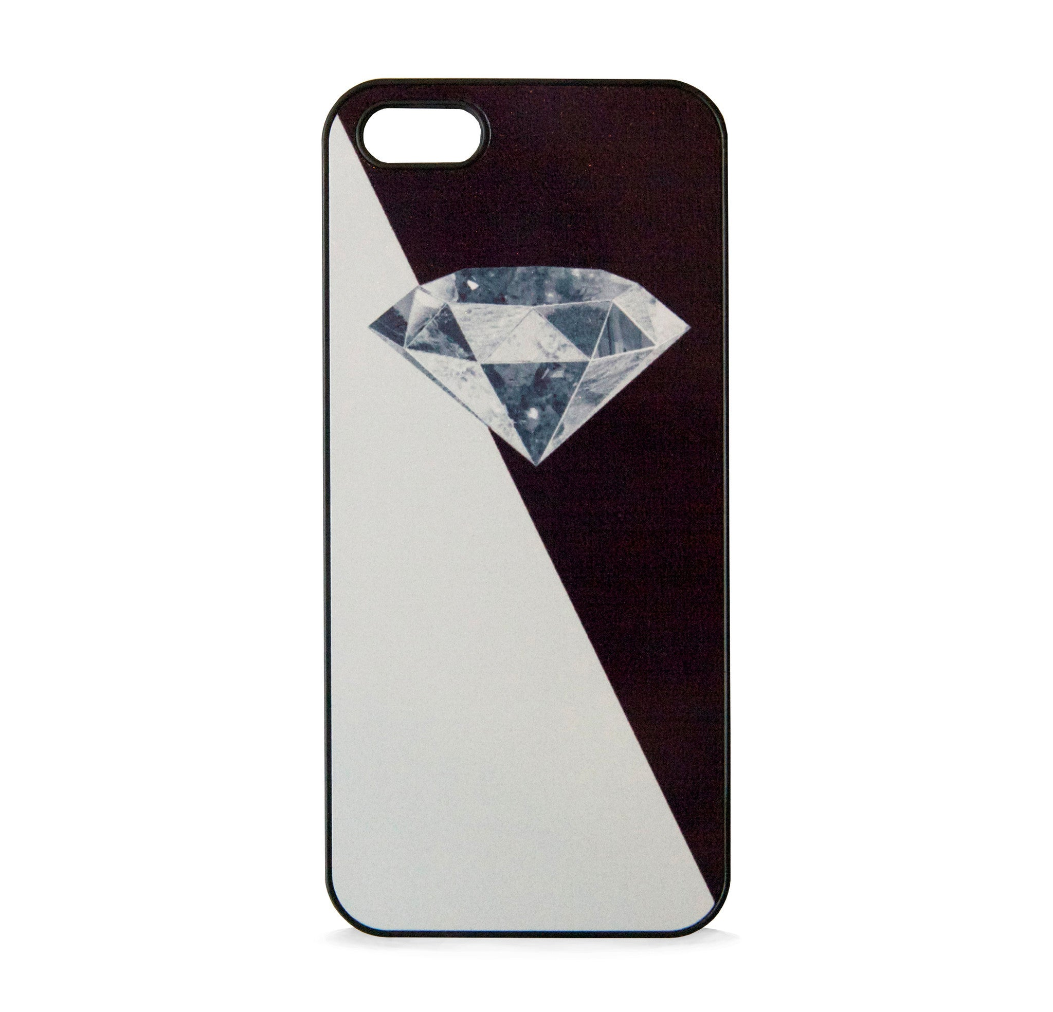 DIAMOND 3D BLACK FOR IPHONE 5/5S, IPHONE SE