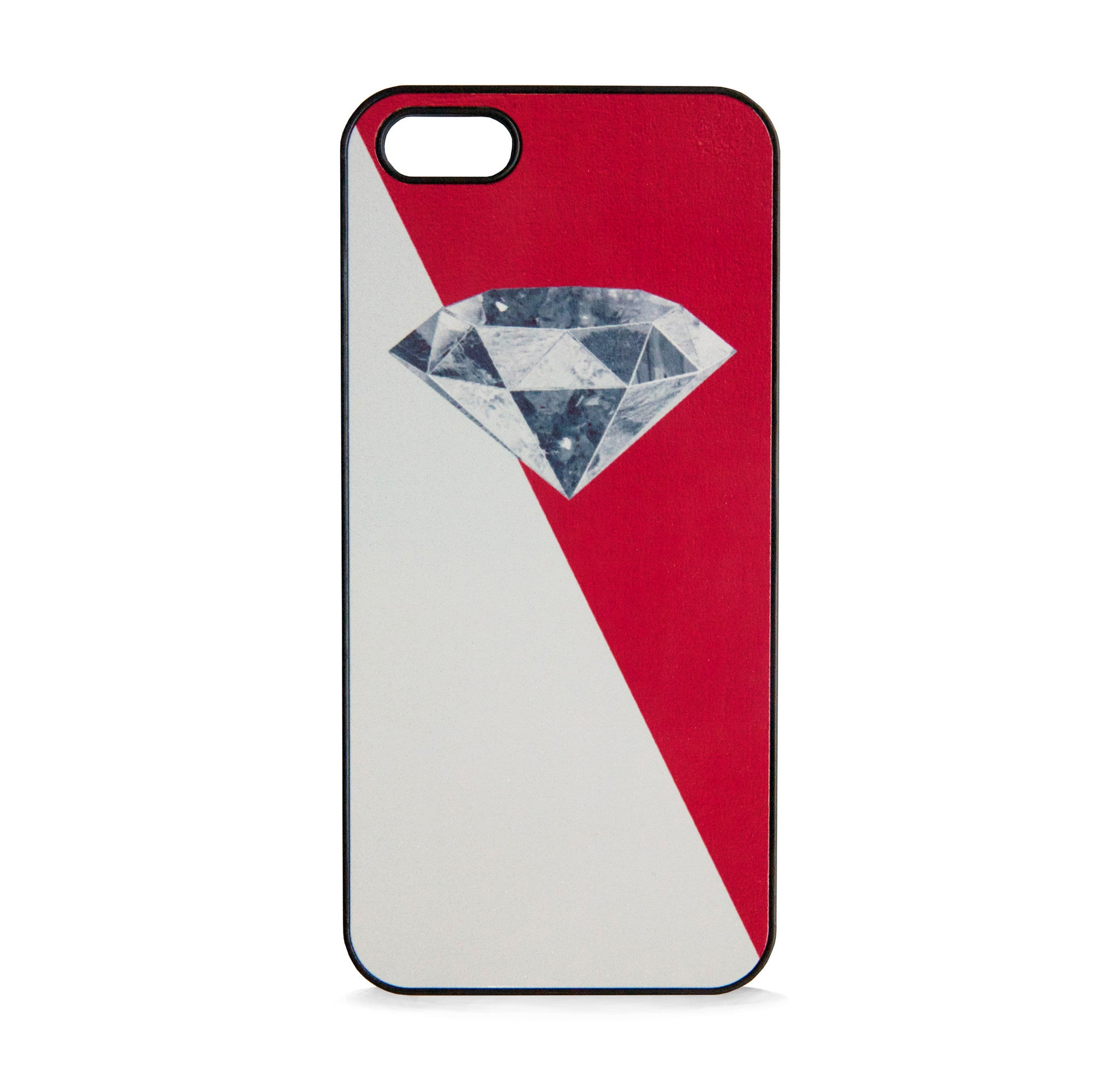DIAMOND 3D RED FOR IPHONE 5/5S