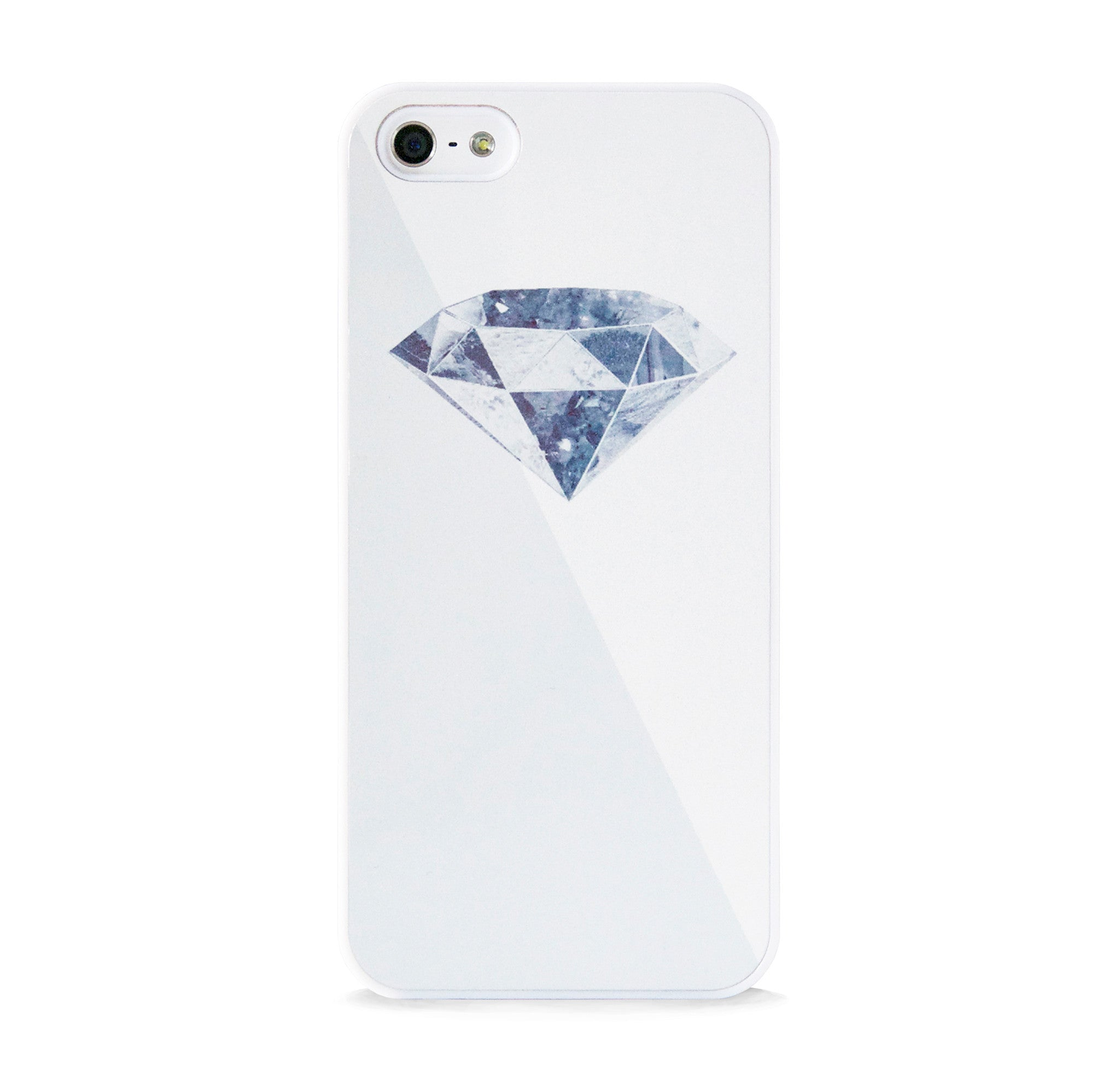DIAMOND 3D WHITE FOR IPHONE 5/5S, IPHONE SE