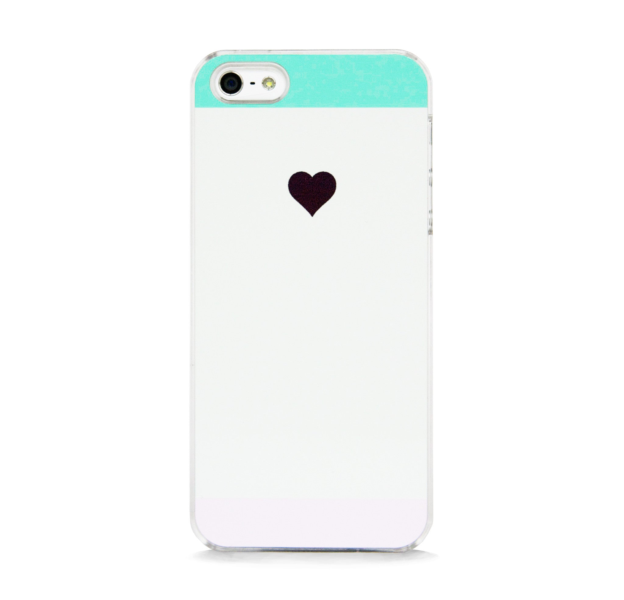 SYMBOL HEART COLOR BLOCK FOR IPHONE 5/5S