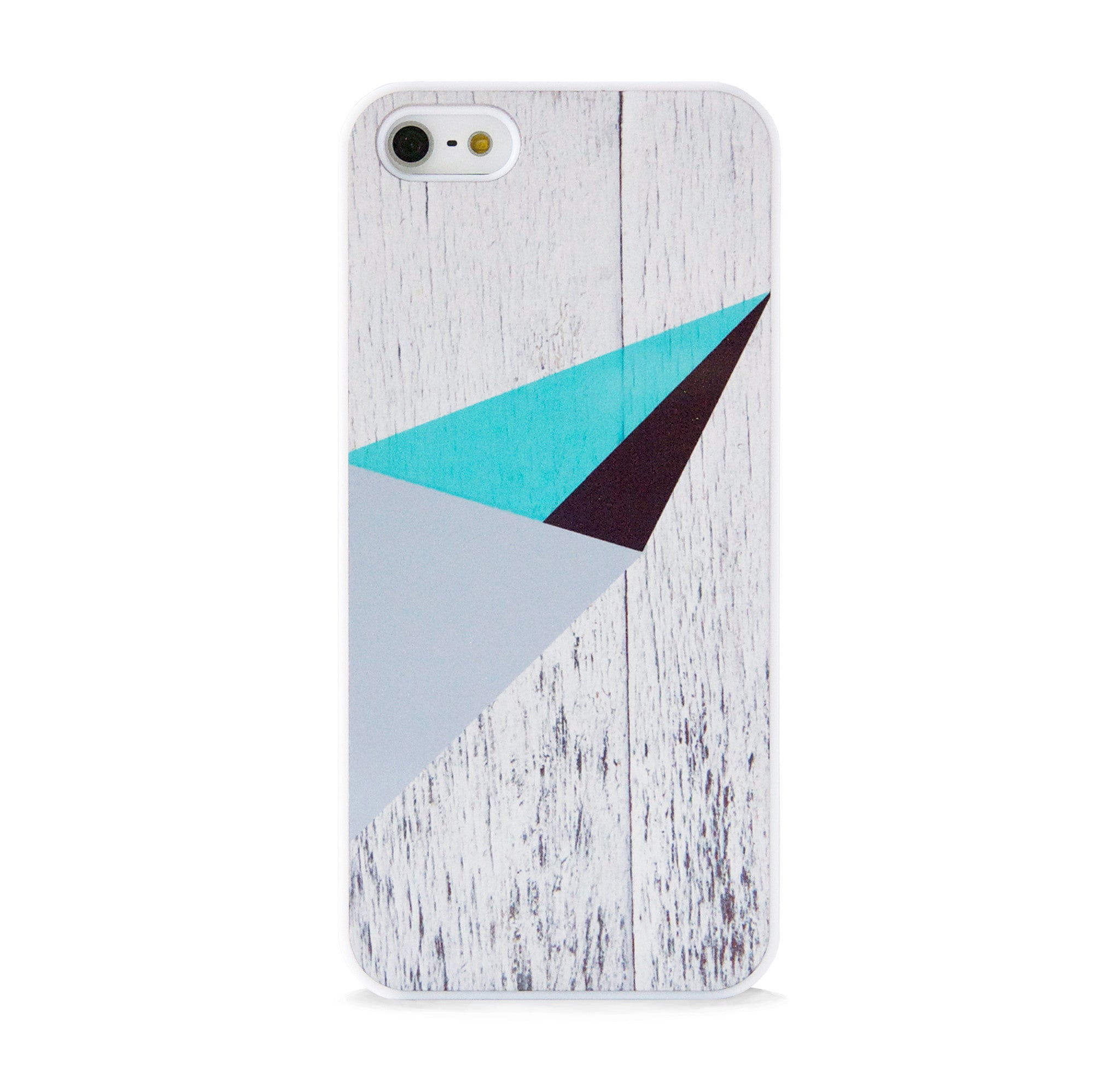 COLOR BLOCK WHITE WOOD FOR IPHONE 5/5S, IPHONE SE