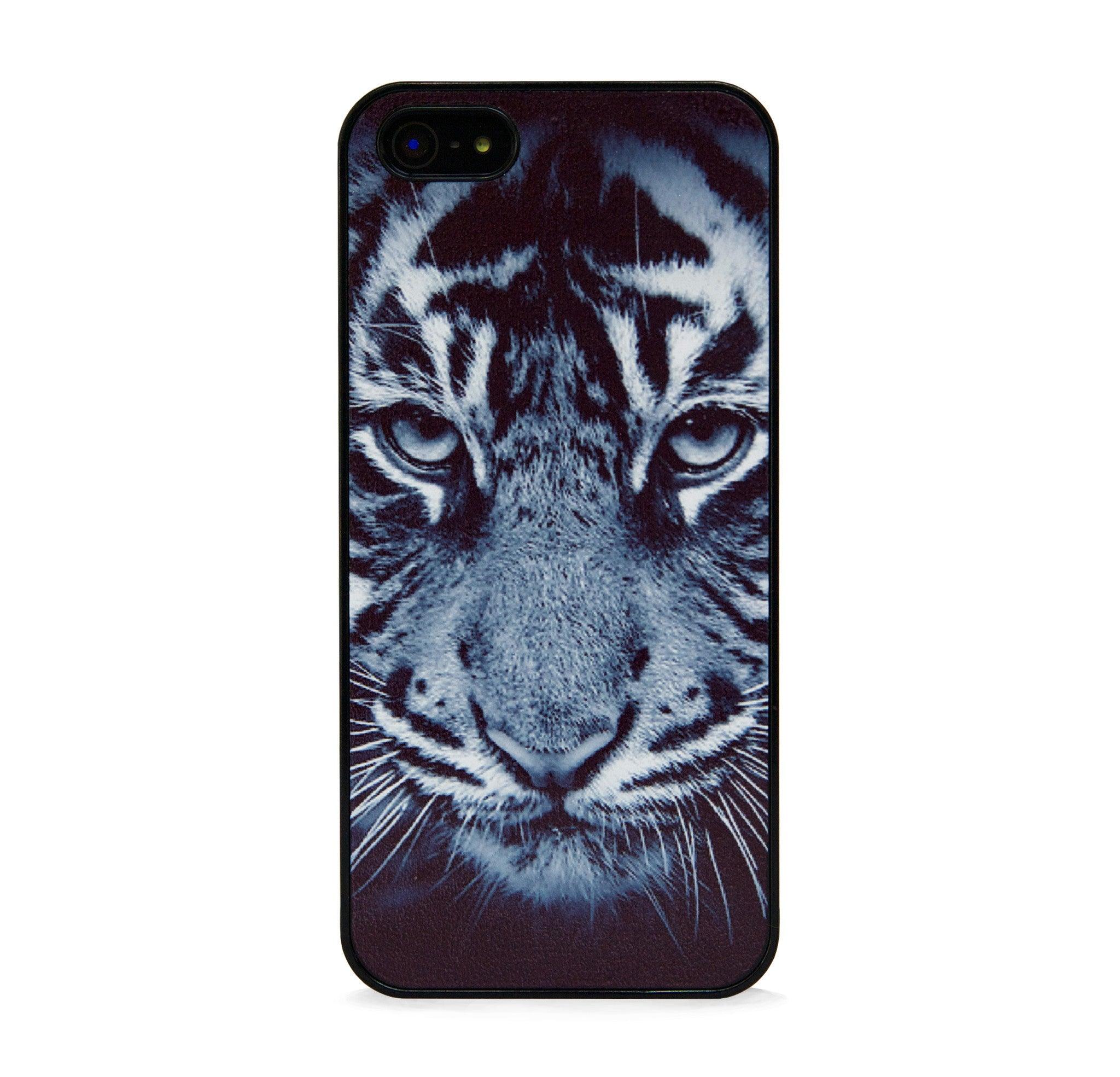 WILD TIGER IN BLACK FOR IPHONE 5/5S, IPHONE SE