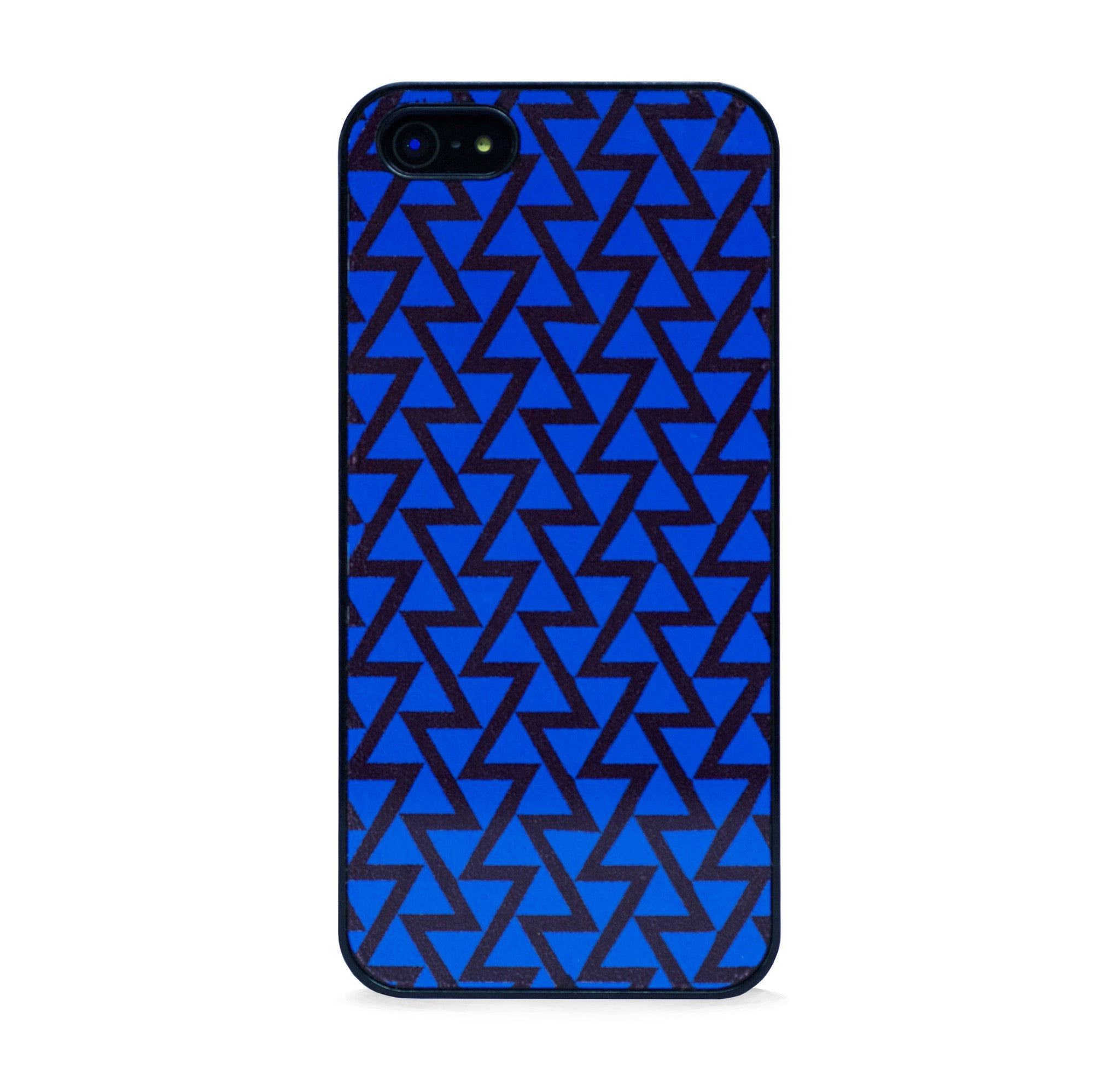 GEO TRIANGLE BLUE FOR IPHONE 5/5S, IPHONE SE