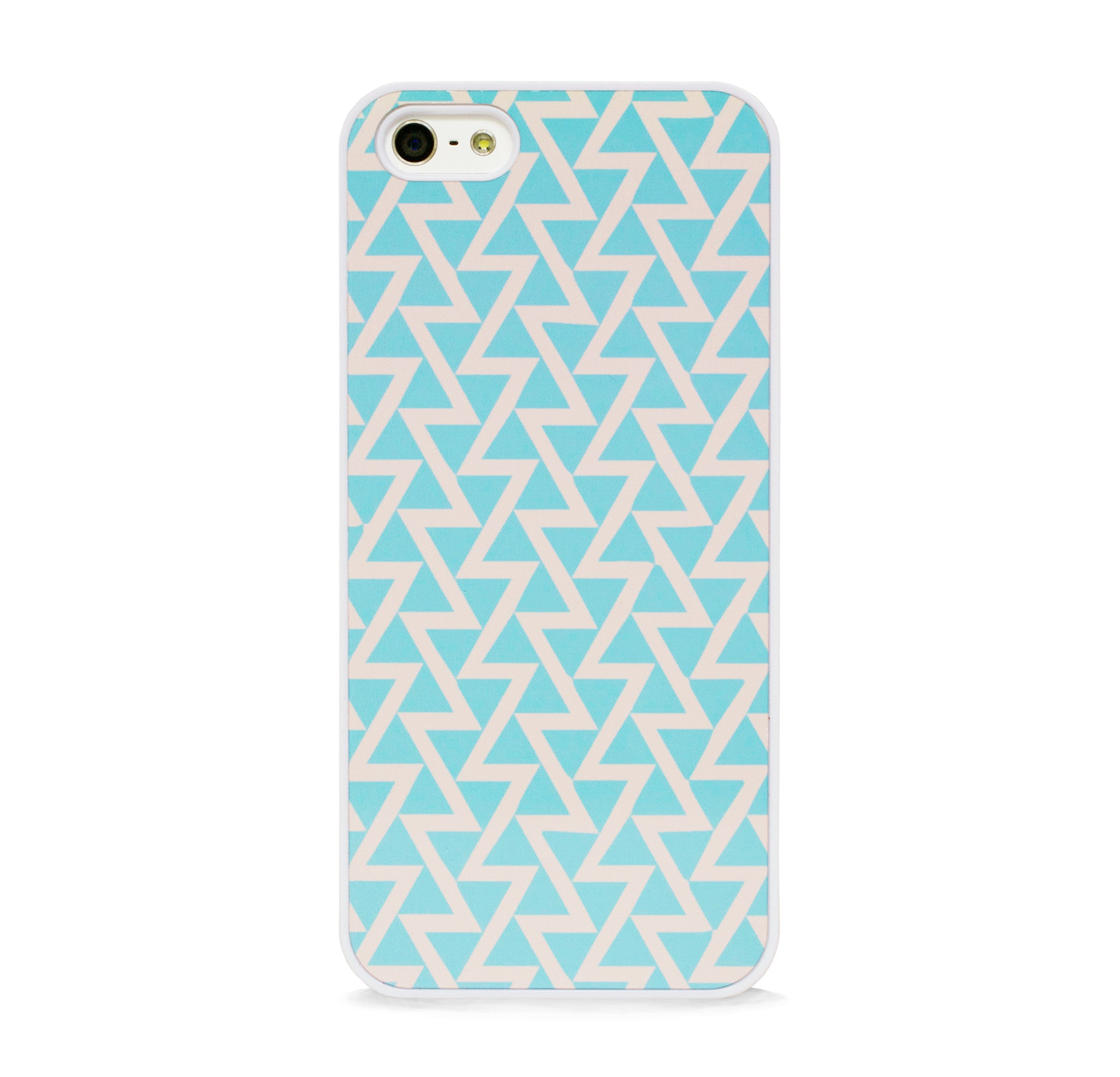 GEO TRIANGLE MINT FOR IPHONE 5/5S