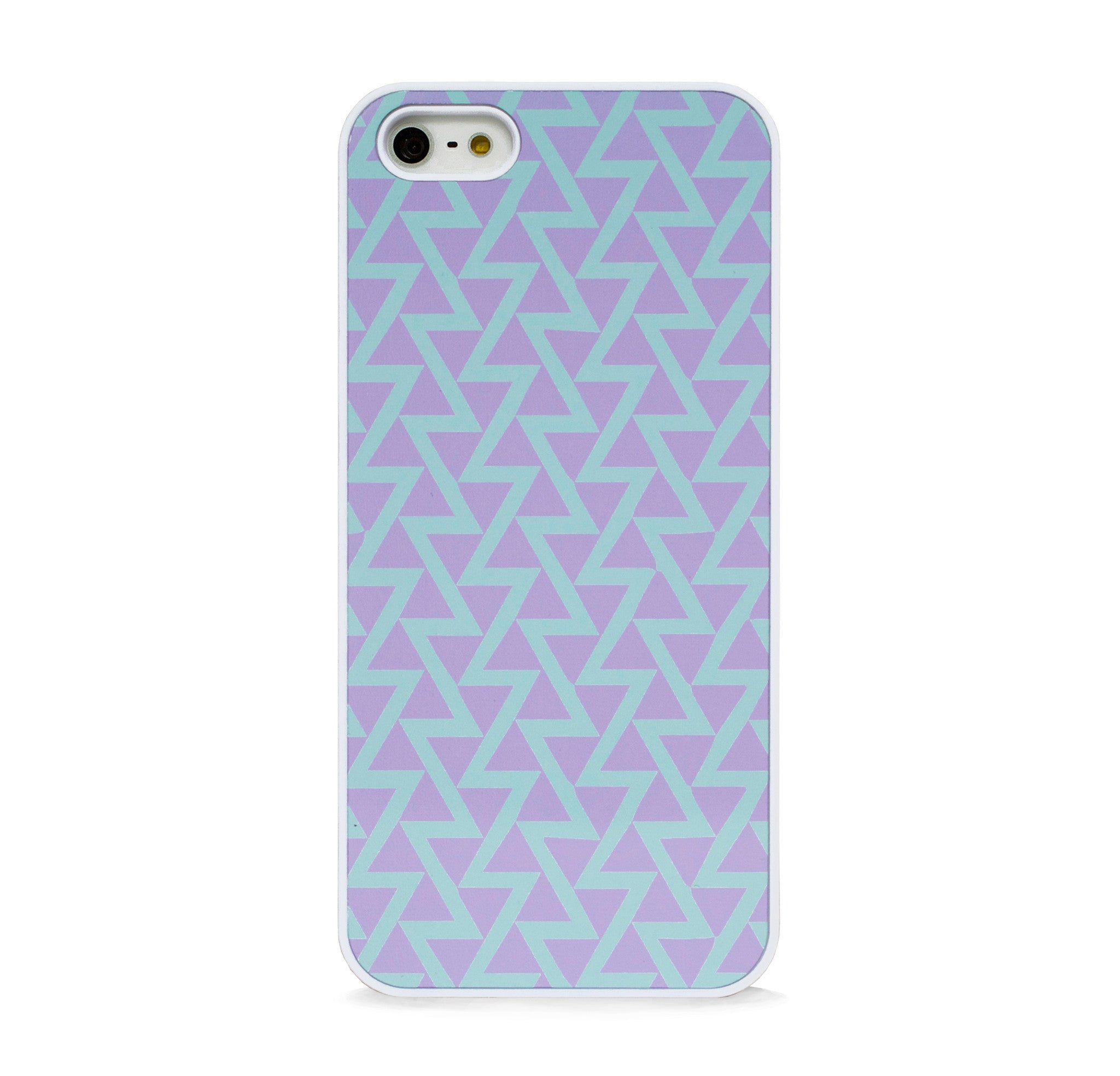 GEO TRIANGLE PURPLE FOR IPHONE 5/5S, IPHONE SE