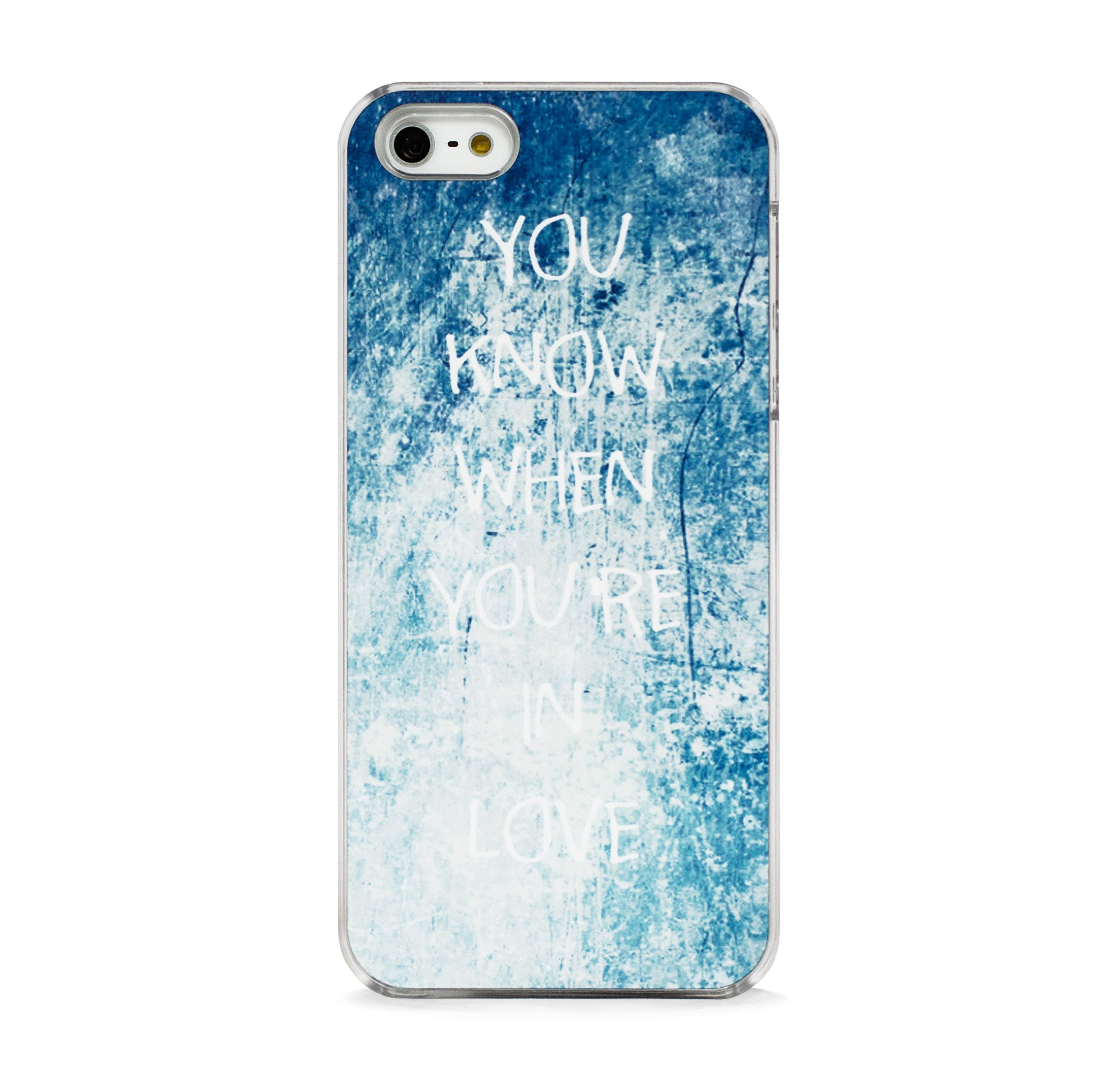 TYPO LOVE IPHONE 5/5S CASE