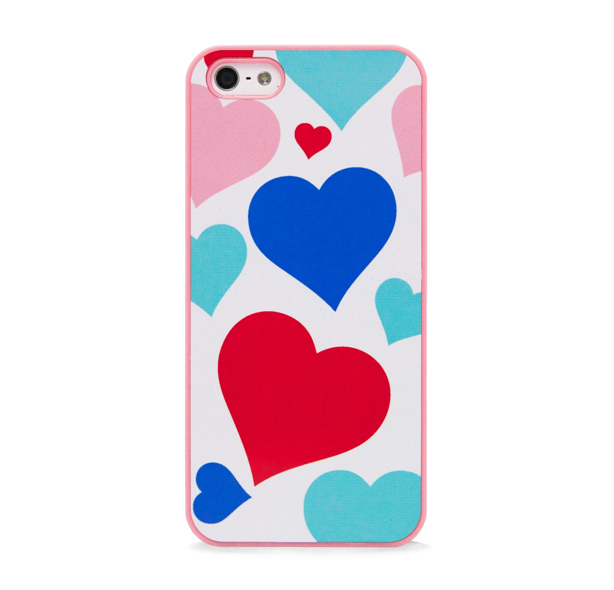 MULTI HEART ALLOVER FOR IPHONE 5/5S