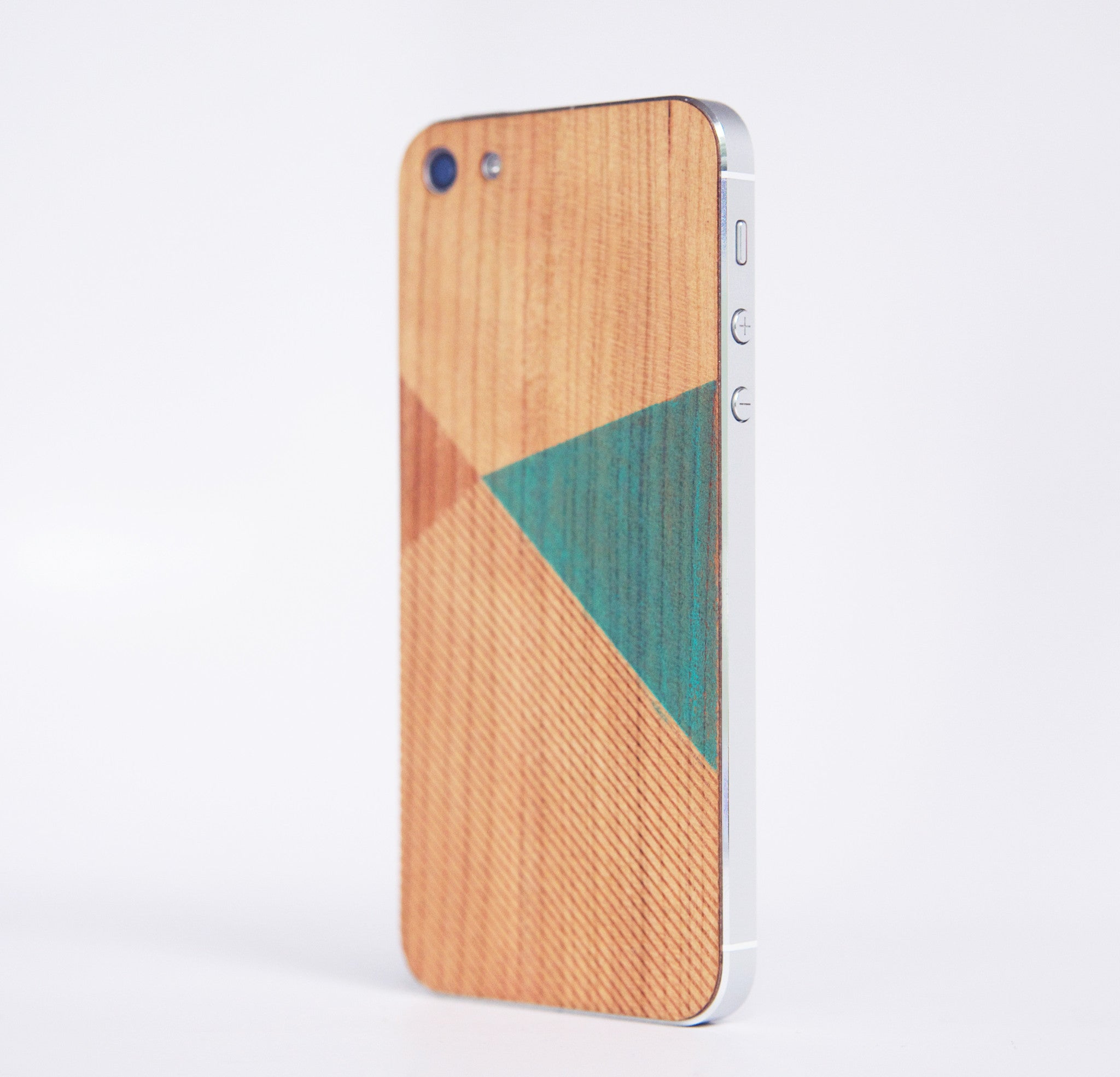 WOOD SKIN COLOR BLOCK MINT