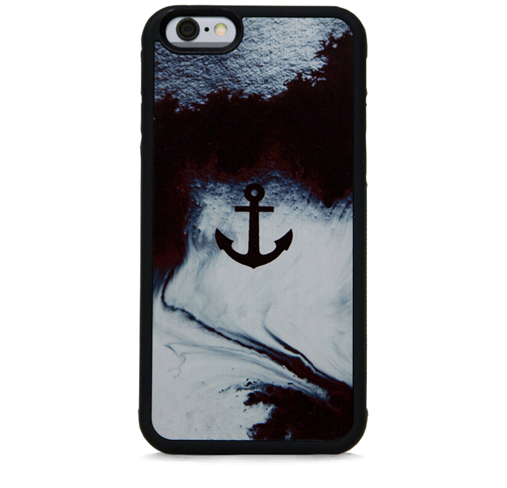 ABSTRACT AND ANCHOR BLK FOR IPHONE 6/6S PLUS