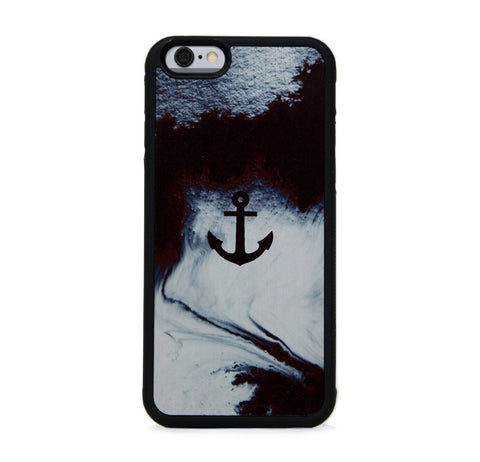 ABSTRACT AND ANCHOR BLK FOR IPHONE 6/6s