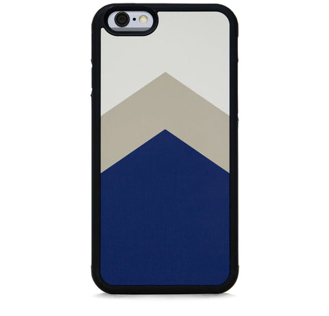 COLOR BLOCK NAVY TAN FOR IPHONE 6/6S PLUS