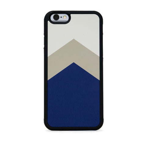 COLOR BLOCK NAVY TAN FOR IPHONE 6/6s