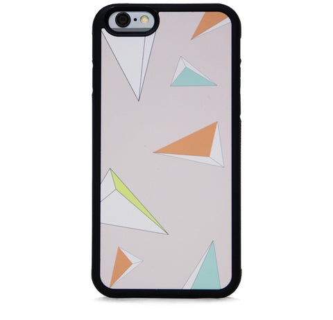 TRIANGULAR PYRAMID ALLOVER ON BLUSH FOR IPHONE 6/6S PLUS