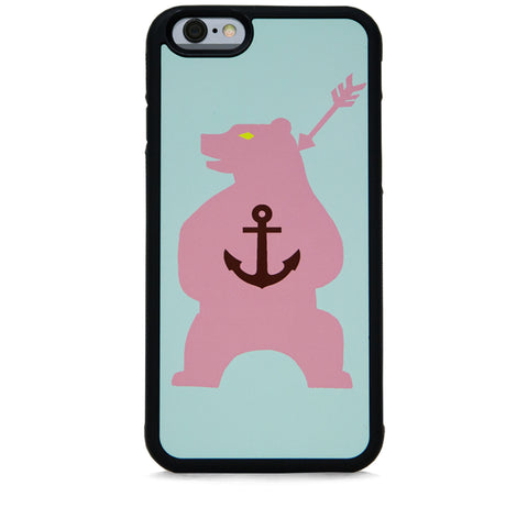 ANCHOR ON BEAR PINK FOR IPHONE 6/6S PLUS