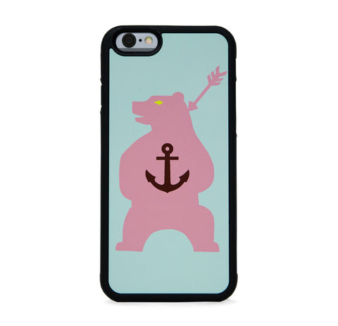 ANCHOR ON BEAR PINK FOR IPHONE 6/6s