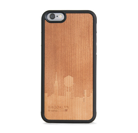 *WOOD CASE BROOKLYN FOR IPHONE 6/6s
