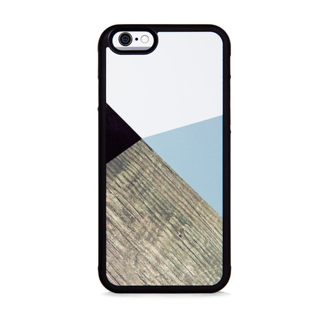 COLOR BLOCK GREY WOOD FOR IPHONE 6/6s