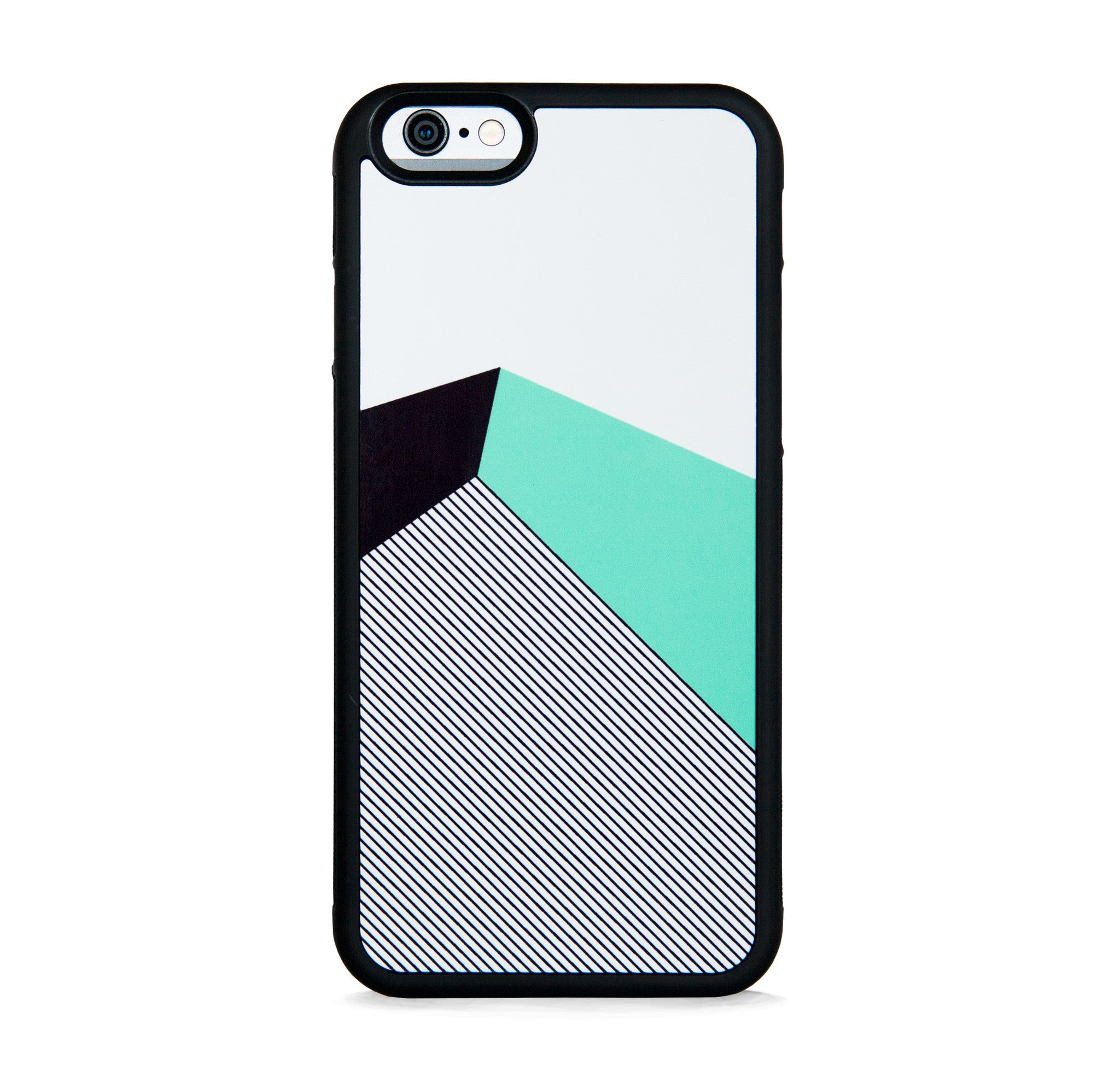 COLOR BLOCK MINT STRIPE FOR IPHONE 6/6s