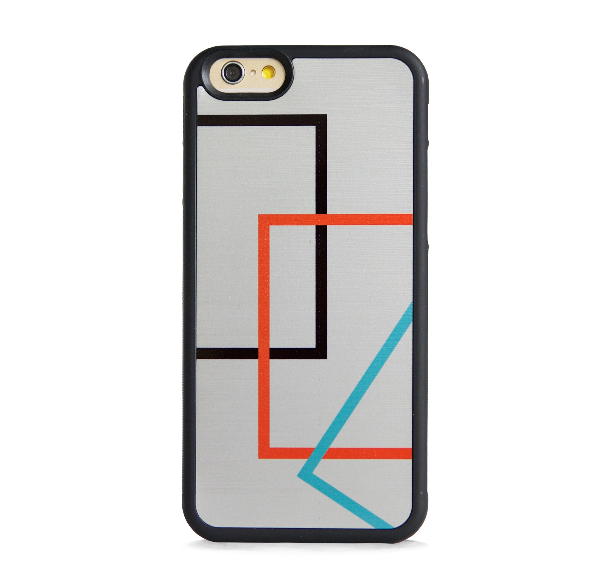 COLOR BLOCK LINE ON SILVER FOR IPHONE 6/6s