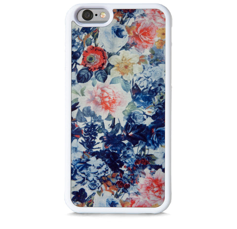 ARTISTIC FLORAL PATTERN NAVY FOR IPHONE 6/6S PLUS