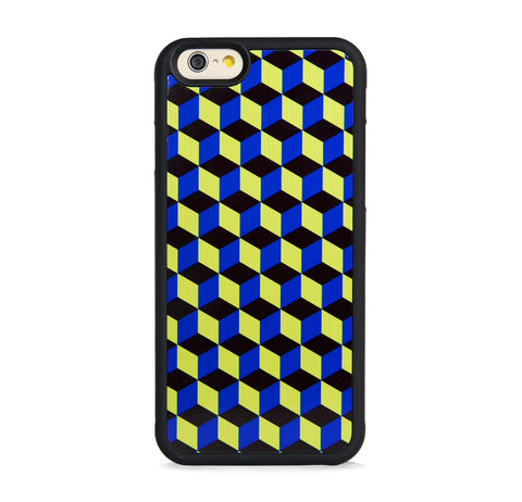 GEOMETRIC COLORFUL CUBES BLUE FOR IPHONE 6/6s