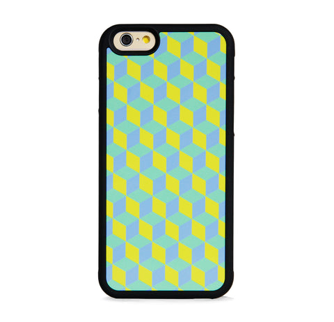 GEOMETRIC COLORFUL CUBES MINT FOR IPHONE 6/6s