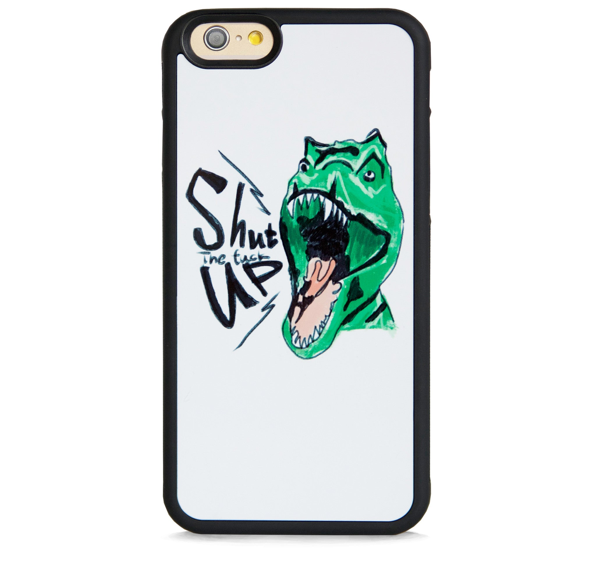 ILLUST GREEN DINOSAUR FOR IPHONE 6/6s PLUS