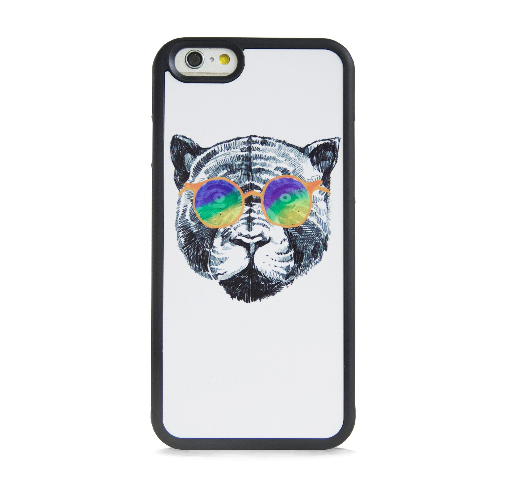 ILLUST TIGER WITH MULTI SUNGLASSES FOR IPHONE 6/6s