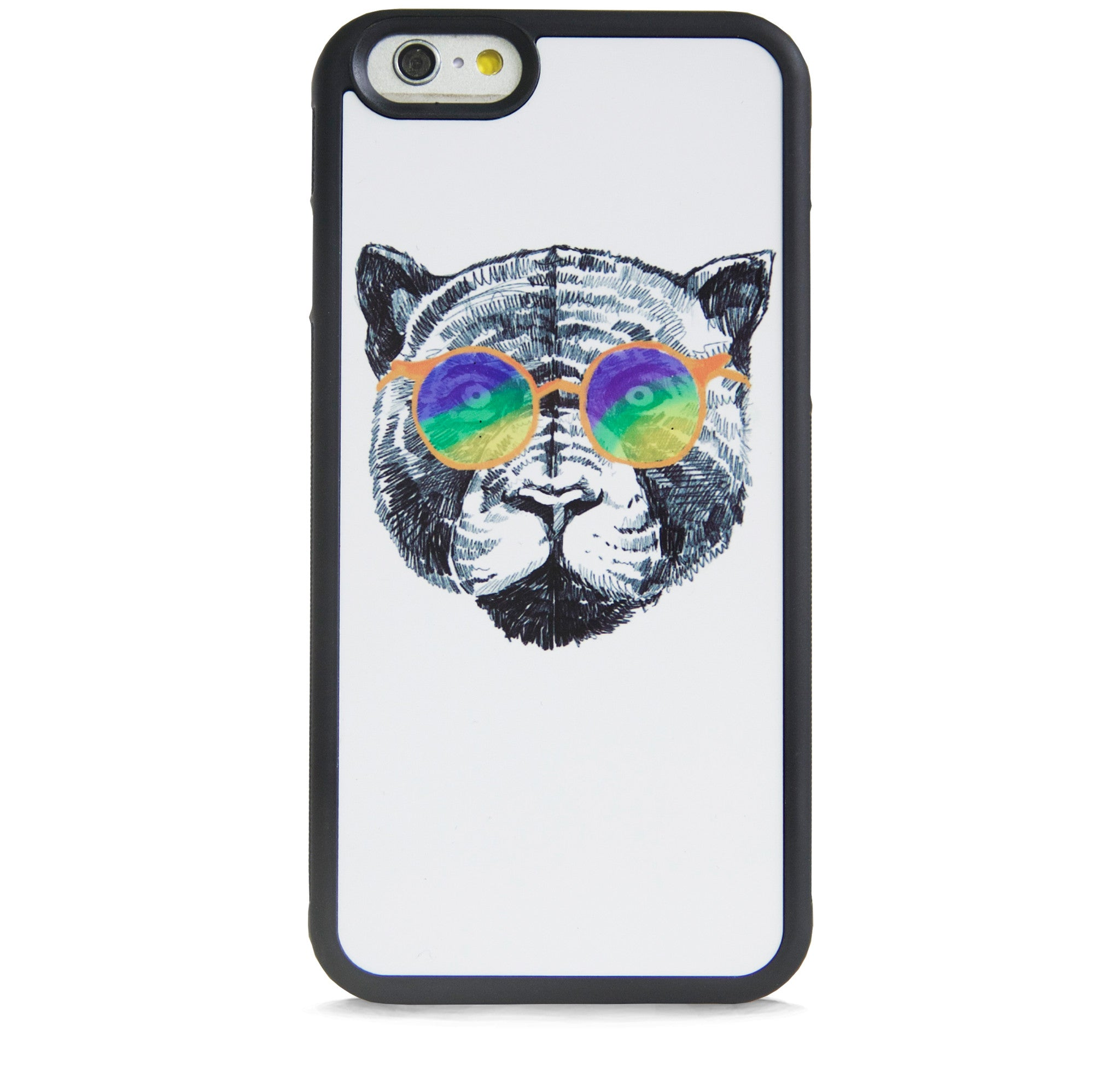 ILLUST TIGER WITH MULTI SUNGLASSES FOR IPHONE 6/6s PLUS