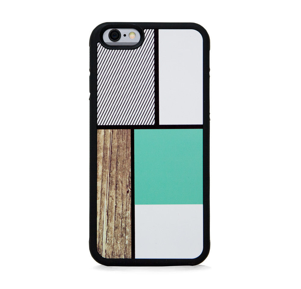COLOR BLOCK SQ MINT FOR IPHONE 6/6s