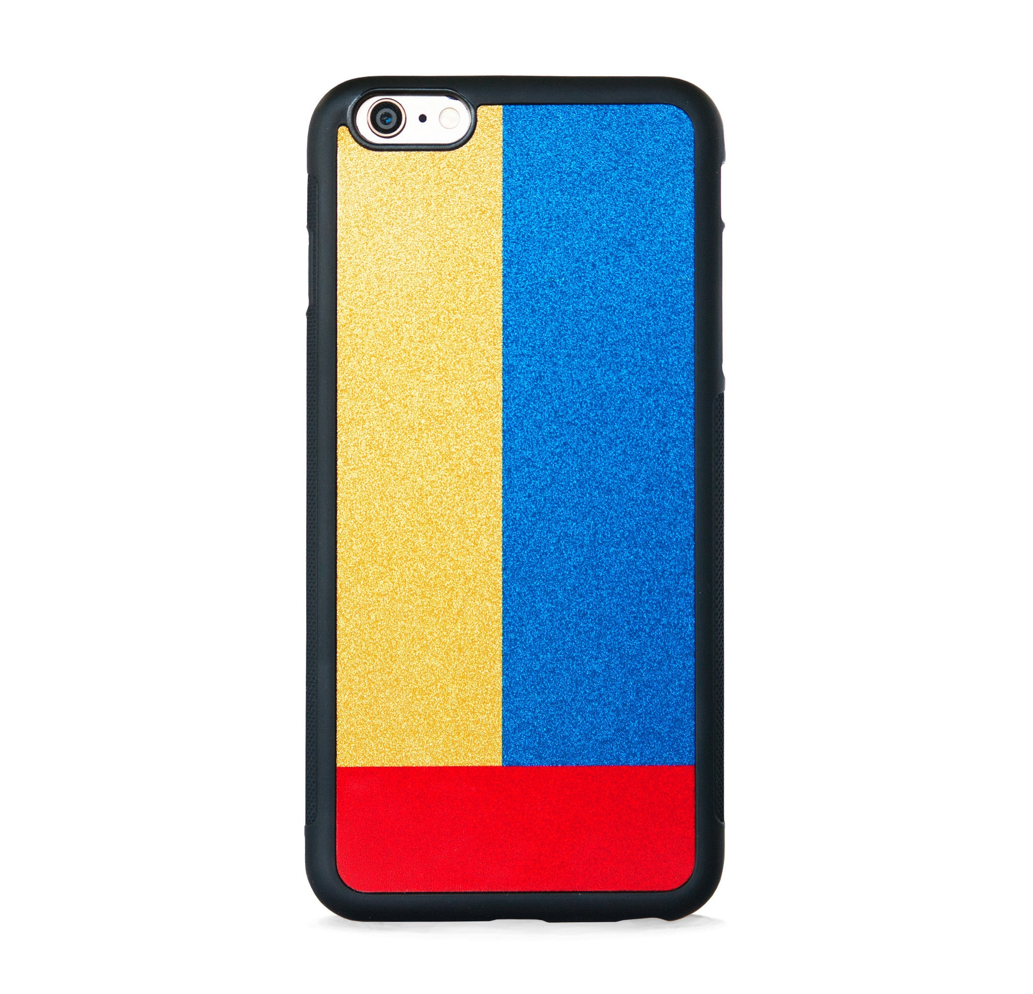 SQUARE COLOR BLOCK ON GOLD FOR IPHONE 6/6s