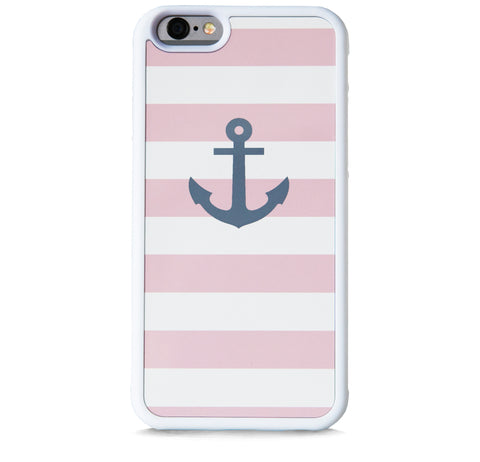 STRIPE PINK ANCHOR FOR IPHONE 6/6S PLUS