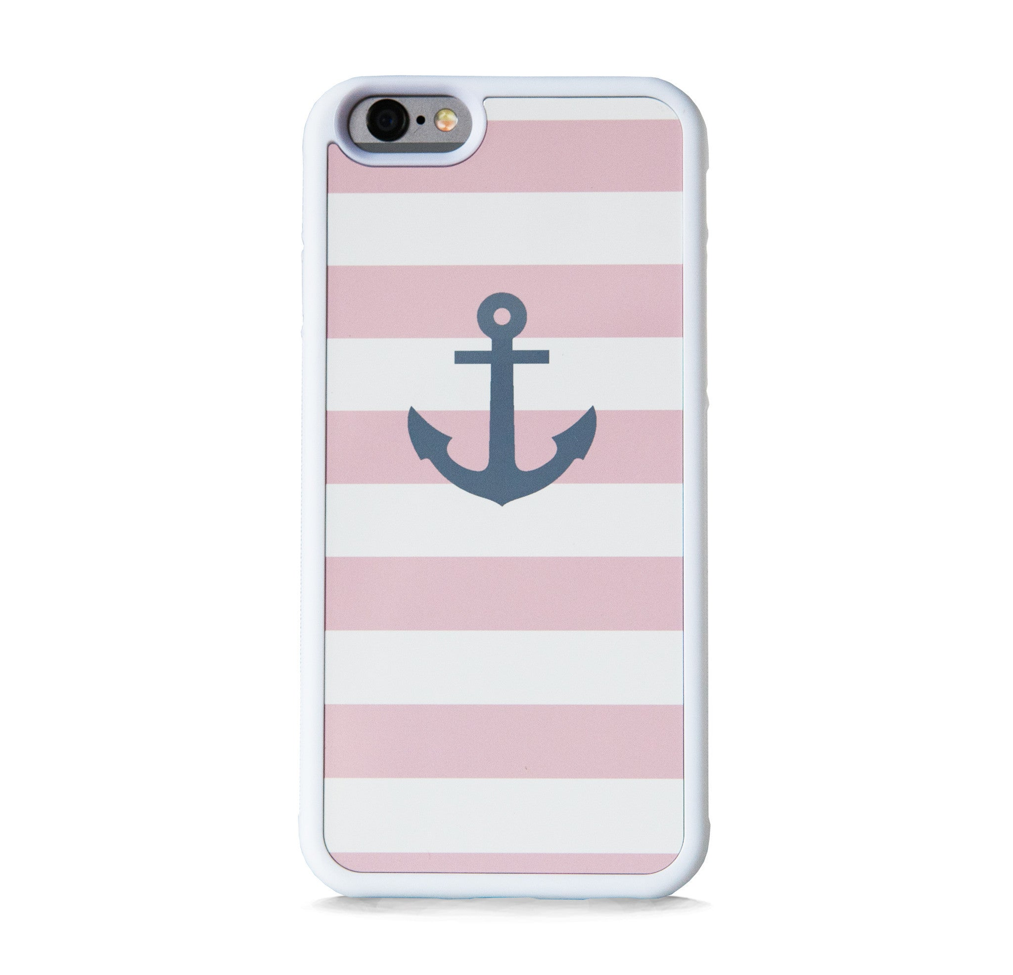 STRIPE PINK ANCHOR FOR IPHONE 6/6s