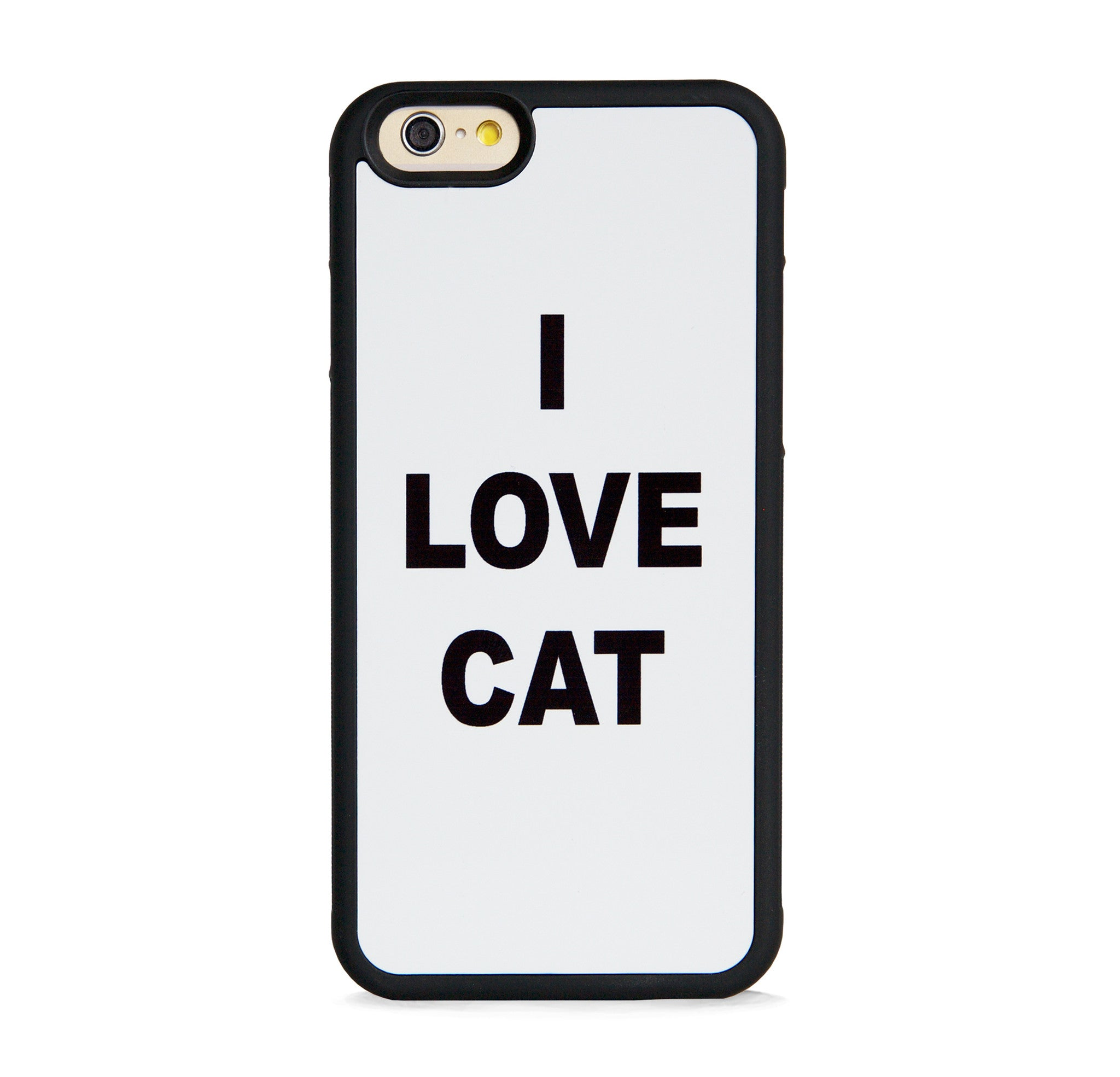 TYPO I LOVE CAT FOR IPHONE 6/6s