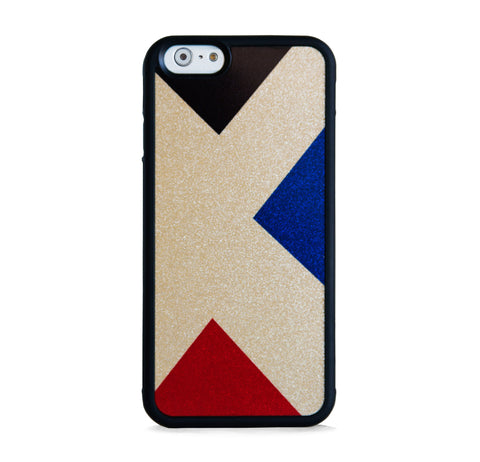 3 TRIANGLES ON GOLD FOR IPHONE 6/6s