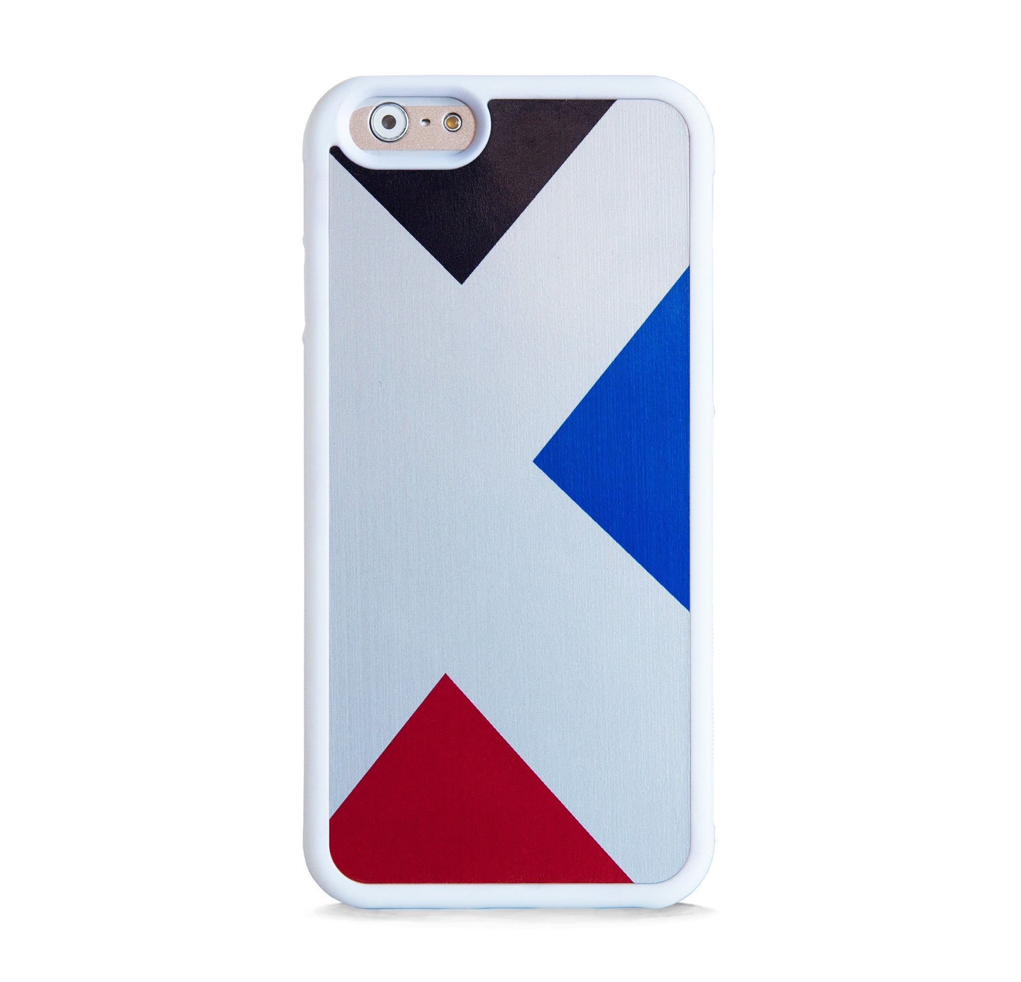 3 TRIANGLES ON SILVER FOR IPHONE 6/6s