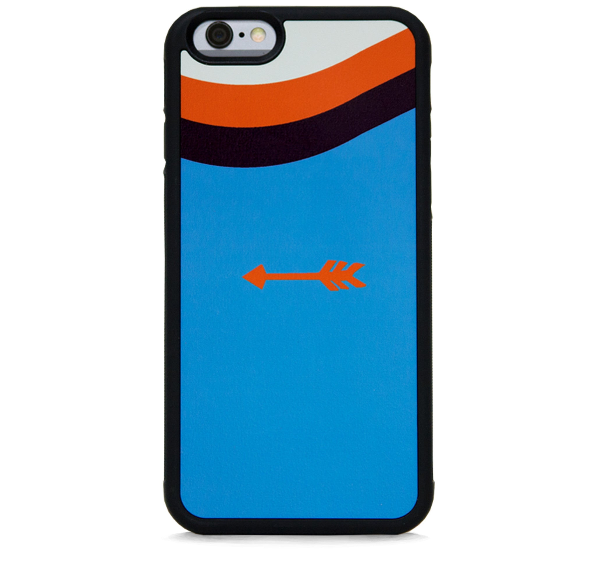 COLOR BLOCK ARROW ON BLUE FOR IPHONE 6/6S PLUS