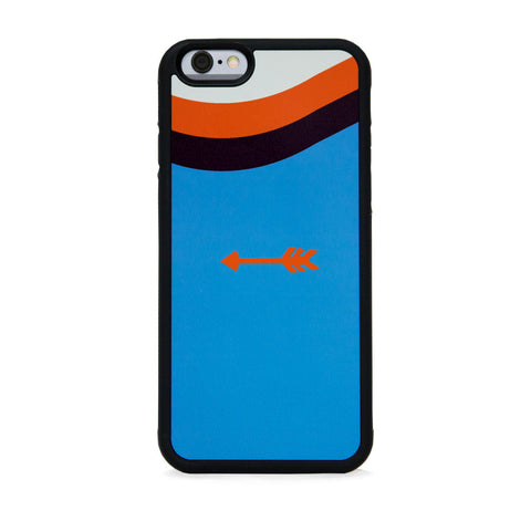COLOR BLOCK ARROW ON BLUE FOR IPHONE 6/6s