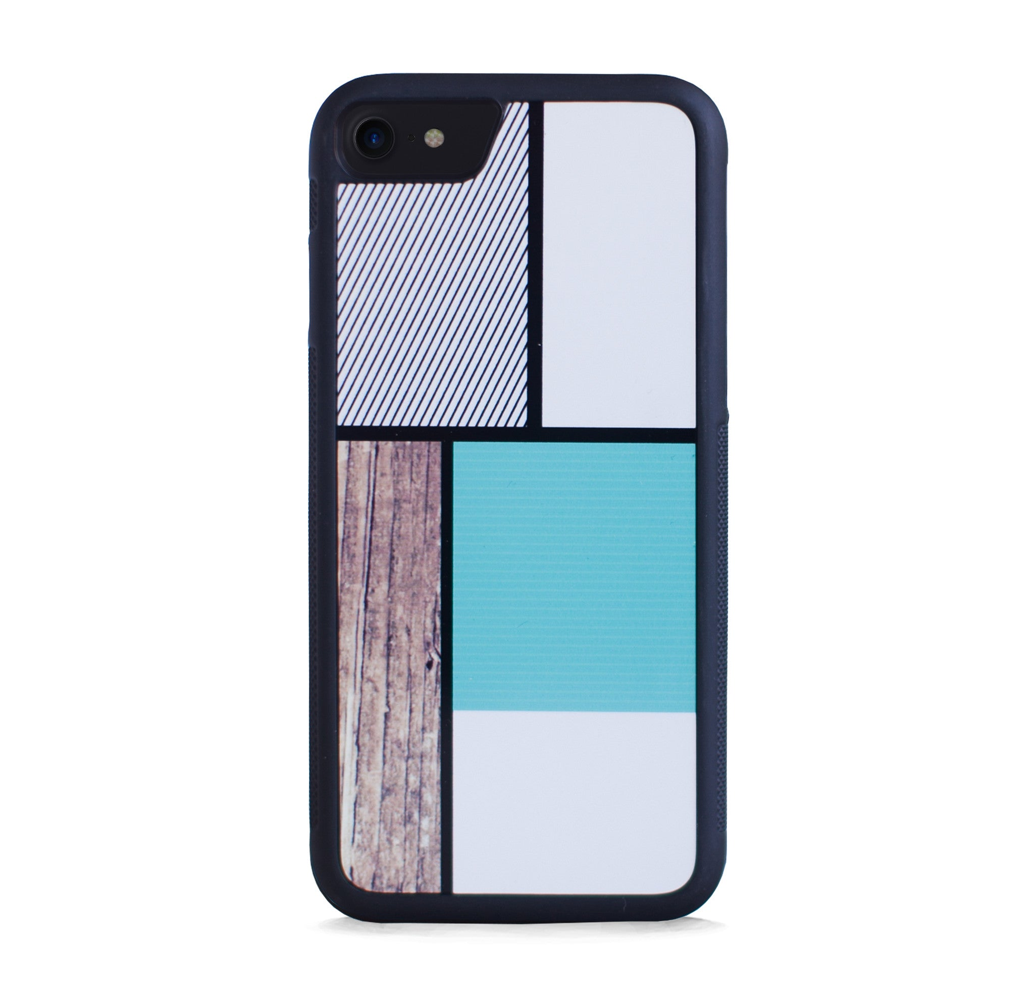 COLOR BLOCK SQ MINT FOR IPHONE 7