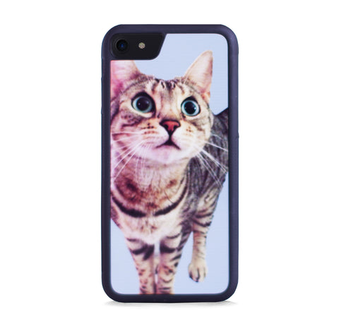 CUTE CAT BLUE FOR IPHONE 7