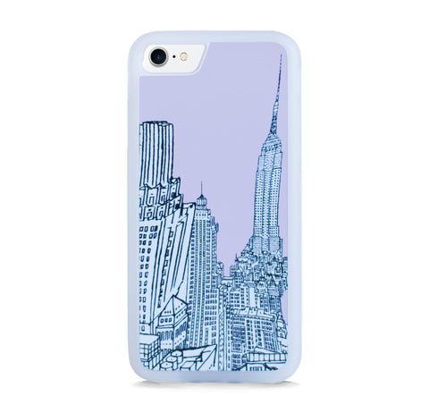 NEW YORK ILLUST PINK FOR IPHONE 7
