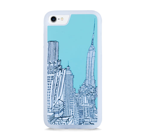 NEW YORK ILLUST MINT FOR IPHONE 7