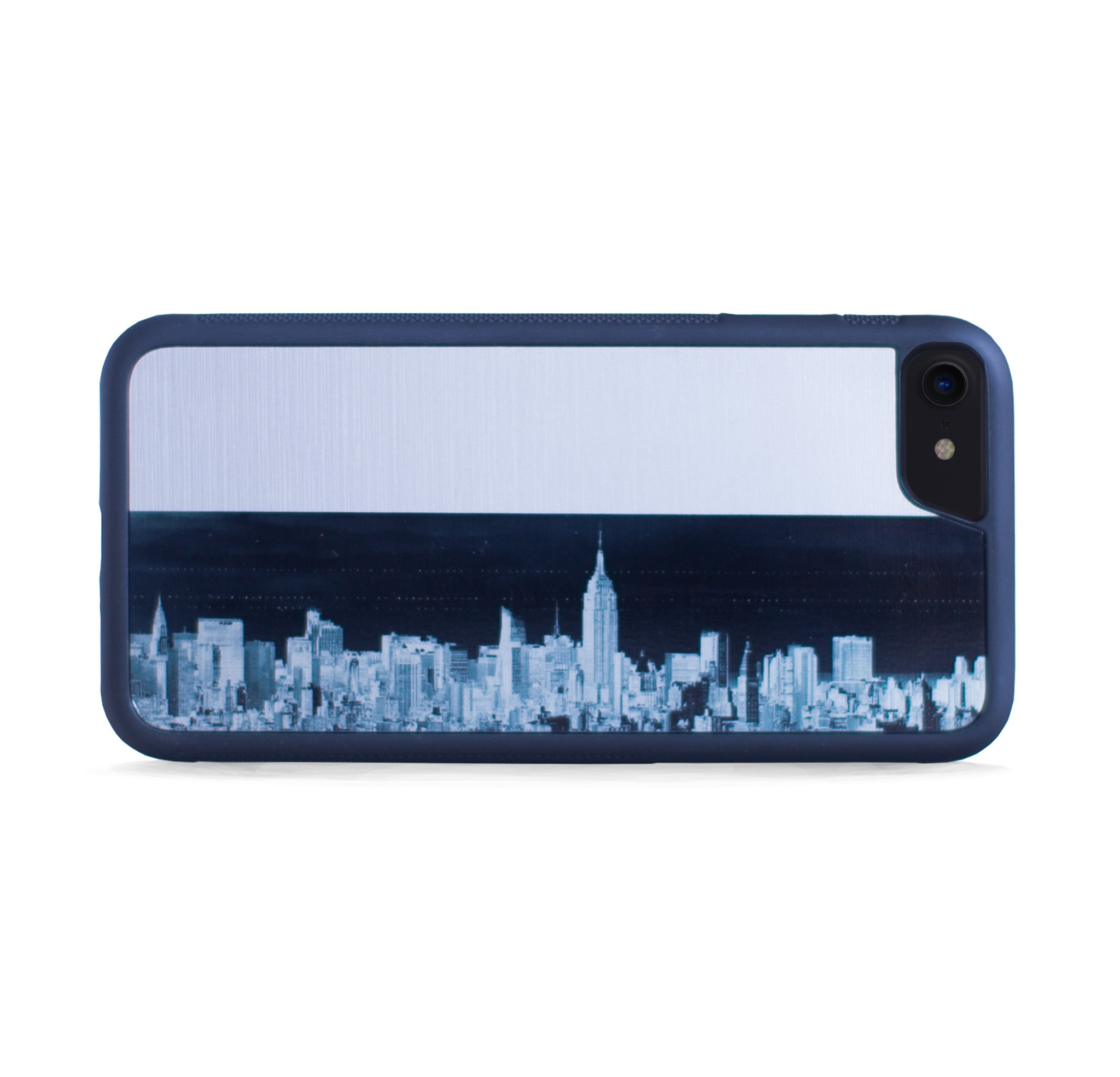 NEW YORK SKYLINE SILVER FOR IPHONE 7