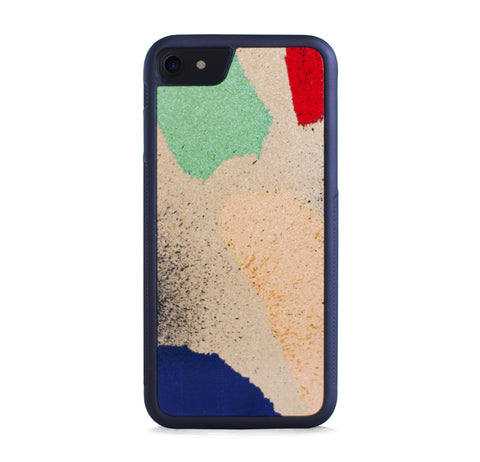 ABSTRACT PAINTINGS ON GOLD FOR IPHONE 7