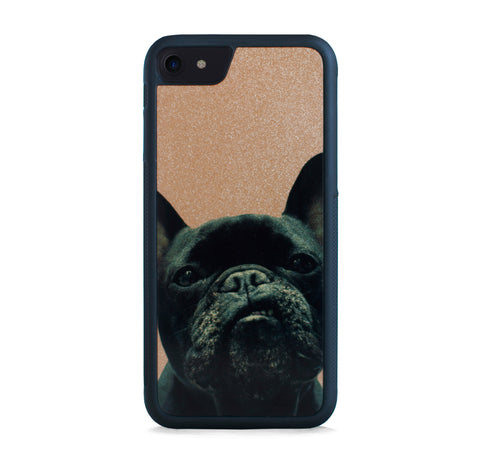 FRENCH BULLDOG ON GOLD FOR IPHONE 7