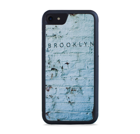 BROOKLYN ON VINTAGE BRICK WALL FOR IPHONE 7